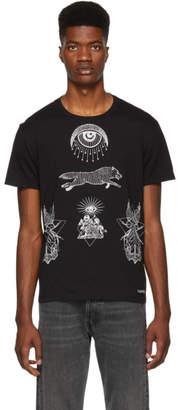 Valentino Black Eye Print T-Shirt