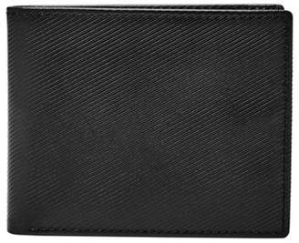 Fossil Niles Large Coin Pocket Bifold Gift Set Accessories Black