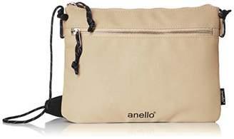 Anello (アネロ) - [アネロ] ショルダーバッグ AH-B3022 JAUNTY サコッシュ ベージュ