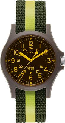 Timex R) ARCHIVE R) Acadia Nylon Strap Watch, 40mm