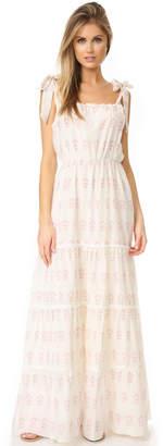 Athena Procopiou Summer Morning Romantic Tiered Dress $567 thestylecure.com