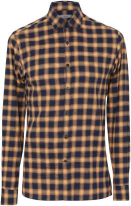 Lanvin Checked Cotton-Twill Shirt