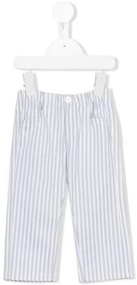 Il Gufo pinstriped chino trousers