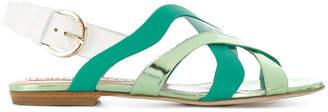 Emilio Pucci strappy flat sandals