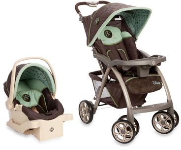 Disney Saunter Luxe Travel System in Bambi Print