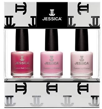 Jessica Perfect Pinks Custom Nail Colour Gift Set
