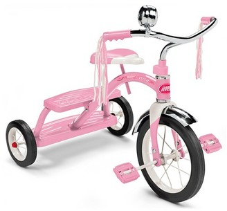 Radio Flyer® Classic Dual Deck Tricycle - Pink $64.99 thestylecure.com