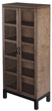 Loon Peak Harwich Curio Cabinet