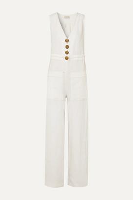 Nicholas Linen Jumpsuit - Ivory