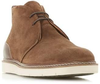 Bertie - Tan 'Copenhagen' Wedge Sole Chukka Boots