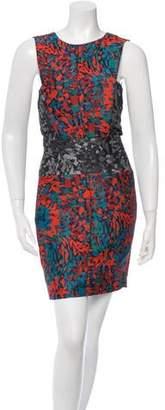 Brandon Sun Printed Mini Dress
