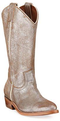 Frye Billy Metallic Western Boots