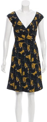 Marc Jacobs Marc Jacobs Jaguar Print Wrap Dress