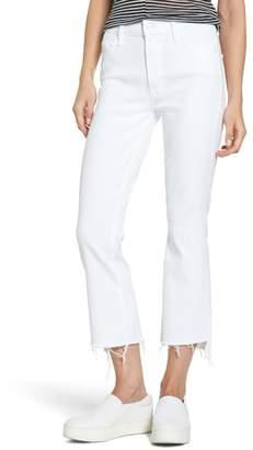 Mother The Insider Step Hem Crop Bootcut Jeans