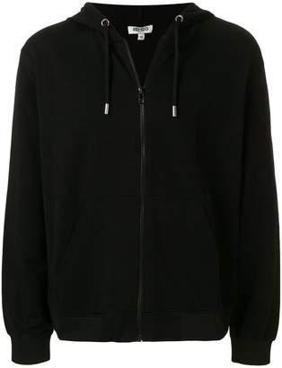 Kenzo zip front hoodie
