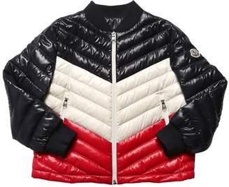 Moncler Palliser Shiny Nylon & Down Jacket