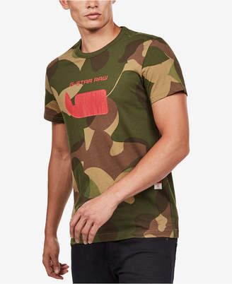 G Star Men's Camo Logo T-Shirt