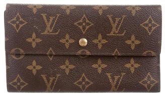 Louis Vuitton Monogram International Wallet $495 thestylecure.com