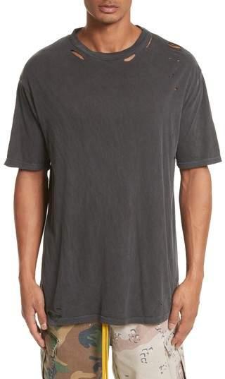 Cobain Distressed Oversize T-Shirt