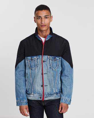 Levi's Unbasic Mock Neck Trucker Jacket