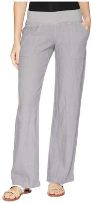 Allen Allen Linen Long Pant Women's Casual Pants