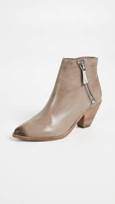 Frye Lila Zip Short Booties