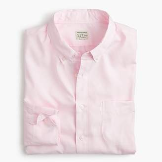 J.Crew Slim stretch Secret Wash shirt in garment-dyed solid poplin