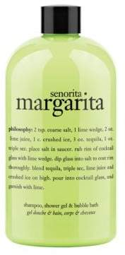 philosophy Senorita Margarita 3 in 1 Shampoo Shower Gel and Bubble Bath 16oz