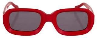 Illesteva Vinyl Matte Sunglasses w/ Tags