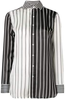 Polo Ralph Lauren contrast panel striped shirt