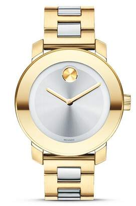 Movado BOLD Silver Museum Dial Watch, 36mm