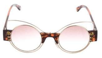 Marc Jacobs Gradient Tortoiseshell Sunglasses