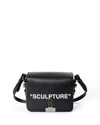 """Off-White Sculpture"""" Flap Shoulder Bag"""