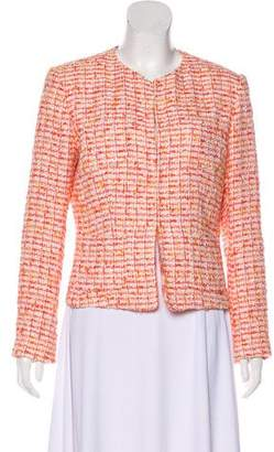 Agnona Tweed Structured Jacket