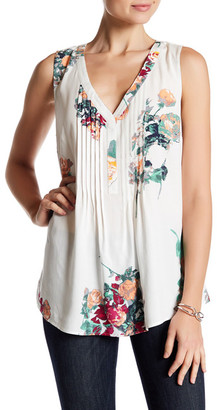 DR2 by Daniel Rainn V-Neck Pleat Tank $68 thestylecure.com
