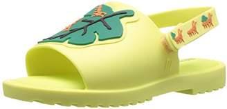 Mini Melissa Girls' Mini MIA + FABULA II Flat Sandal