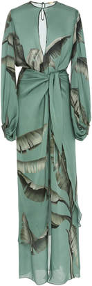Johanna Ortiz Spirit Of Aloha Silk Georgette Dress