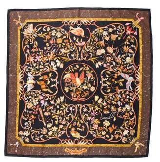Hermes Pierres d'Orient et d'Occident Silk Scarf