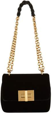 Tom Ford Small Velvet Natalia Shoulder Bag