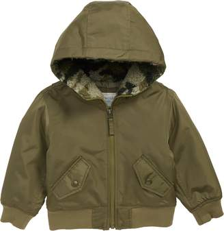 J.Crew crewcuts by Hooded Bomber Jacket