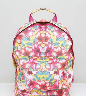 Mi-Pac Exclusive Mini Tumbled Backpack in Flower Print