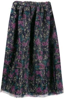 0c2bd0823395c Purple Midi Skirt - ShopStyle Canada