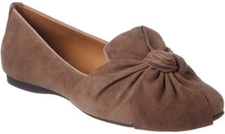 French Sole Whitney Suede Flat