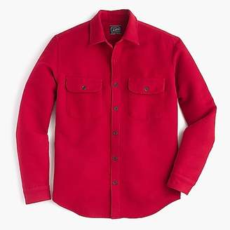 J.Crew Heavyweight chamois shirt