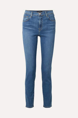 J Brand Ruby 30 High-rise Slim-leg Jeans