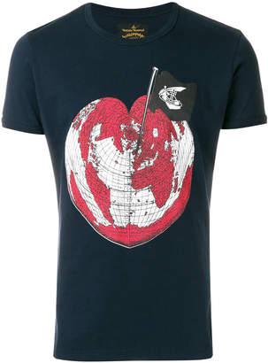 Vivienne Westwood world heart logo T-shirt