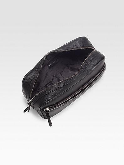 Burberry Coalburn Leather Dopp Kit