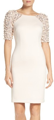 Women's Adrianna Papell St. Arcadia Beaded Cocktail Dress $229 thestylecure.com