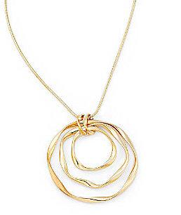 Etienne Aigner Triple-Circle Necklace
