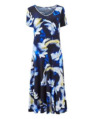 Julipa Printed Jersey Dress